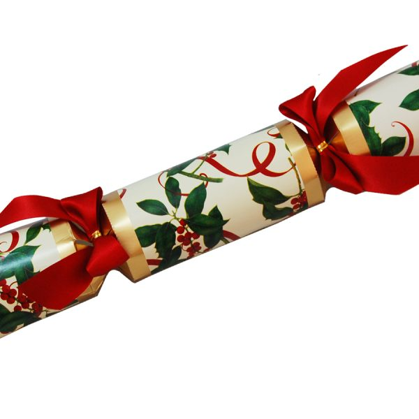 Holly and berries christmas cracker